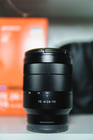 24-70mm Sony Zeiss F4 Lens for Sale in Tampa, FL