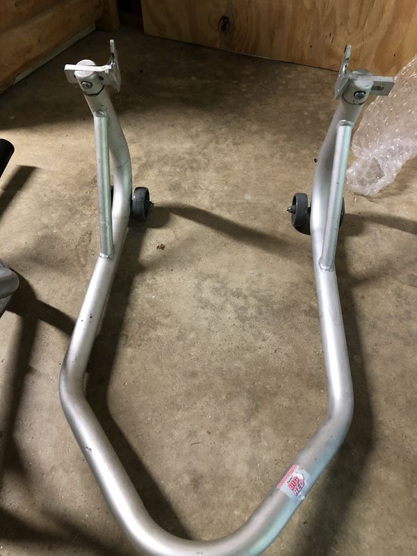 Motorcycle Front and Rear racing stands
