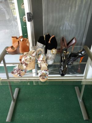 Unique Wedges and shoes Size 8 $10-$50 for Sale in Clarksville, TN
