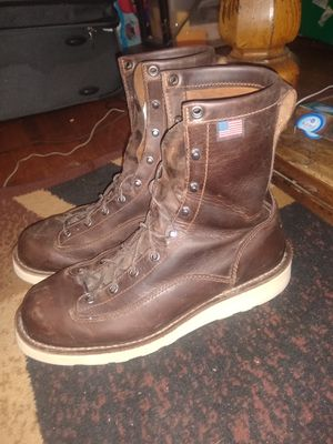 "Mens Danner 8"" work boots leather size 9.5 for Sale in West Jordan, UT"
