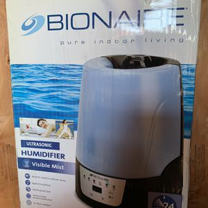 Bionaire Humidifier Ultrasonic Room Air Digital Humidistat for Sale in Bell, CA