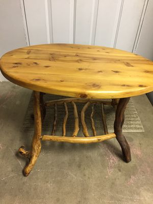 Beautiful Hand Crafted Oval Table for Sale in Bellingham, WA