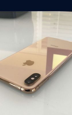 iPhone X S Max 256gb Unlocked Gold Excellent Condition for Sale in Moreno Valley,  CA