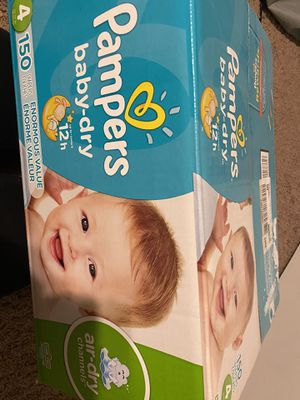 Pampers size 4 for Sale in Queen Creek, AZ
