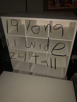 White wood shelves for Sale in Las Vegas, NV