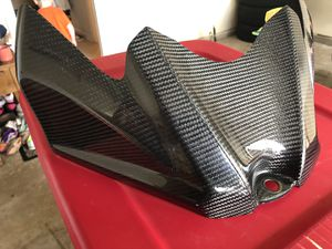 '09 Suzuki GSX-R 750 carbon Fiber Gas Tank Cover for Sale in Manassas, VA