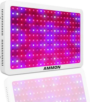 AMMON LED Grow Light, 2400W Double Chips Full Spectrum Grow Light Kit Greenhouse Hydroponic Indoor Plant Lamp(10W 240LEDs) for Sale in West Los Angeles, CA