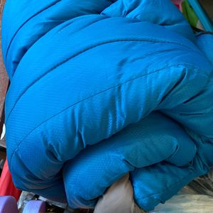 Blue Sleeping Bag Great For Spend Night Outdoors With Friends And Camping for Sale in Burlington, WA