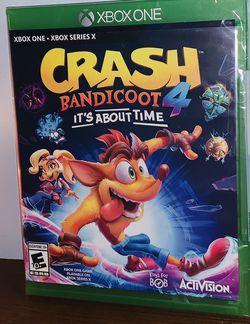 Brand New Crash Bandicoot 4 Xbox One Game for Sale in Stuarts Draft,  VA