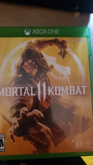Mortal kombat 11 for Sale in Vancouver, WA