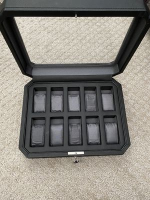 10 Watch Glass Top Case Box for Sale in Downers Grove, IL