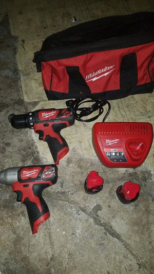Milwaukee 12v impact and drill for Sale in Riverside, CA