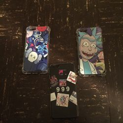 3 iPhone 6 Phone Cases! One Rick & Morty Second FNAFs Three Cool Landscape for Sale in Williamsport,  PA