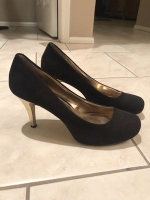 Black & Gold Heels Size 11M for Sale in Phoenix, AZ