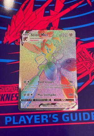 Pokémon Darkness ablaze Scizor Vmax secret rare for Sale in Queens, NY