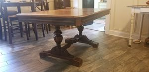 Antique dining room table & chairs Penn Table Company WV for Sale in Granville, OH