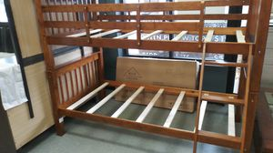 Bunk bed frame only $195 mattress not included twin size bed for Sale in Grove City, OH
