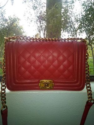 Red Chanel boy bag for Sale in San Diego, CA
