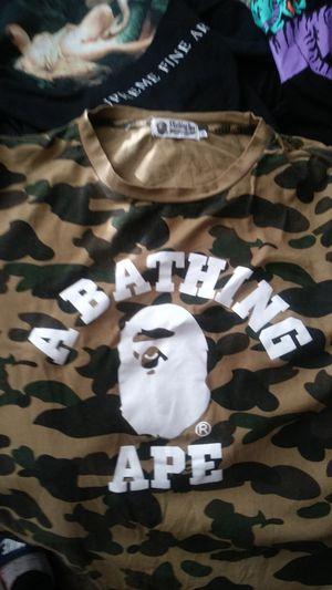 Camo bape shirt for Sale in Arlington, TX