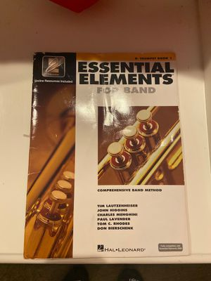 Essential Elements for Band Trumpet Book 1 for Sale in Frisco, TX