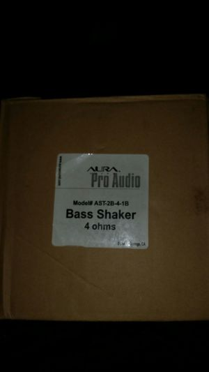 Aura Sound- Pro Audio- Bass Shaker for Sale in Moreno Valley, CA