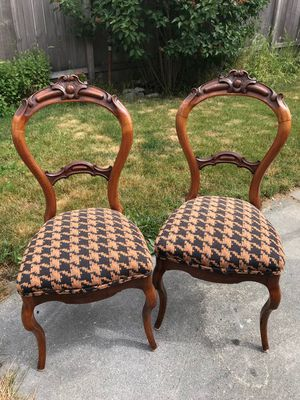 Pair of Antique Chairs for Sale in Seattle, WA