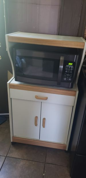 Microwave and stand for Sale in St. Louis, MO