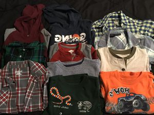 Lot of 11 - 4T long sleeve/ short sleeve for Sale in Ontario, CA