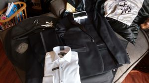 Men's Calvin Klein tuxedo jacket 38 pants 34x32 shirt 15 34/35 for Sale in Manassas, VA