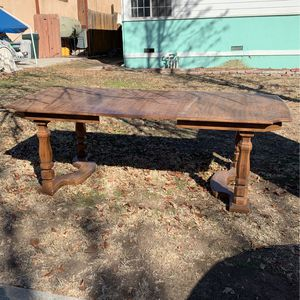 FREE Dinning table and working fridge for Sale in Paso Robles, CA