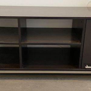 CB2 6 Shelf Media Entertainment Cabinet Console for Sale in Chicago, IL