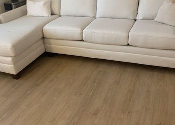 White Sectional for Sale in Reston,  VA