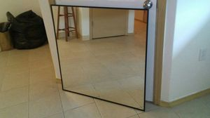 Very nice mirror 3ft by 3ft for Sale in Portland, OR