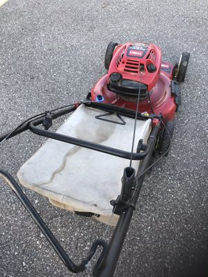 Toro lawn mower self-propelled starts with the first pull Great for bagging or mulching for Sale in Waterford Township, MI