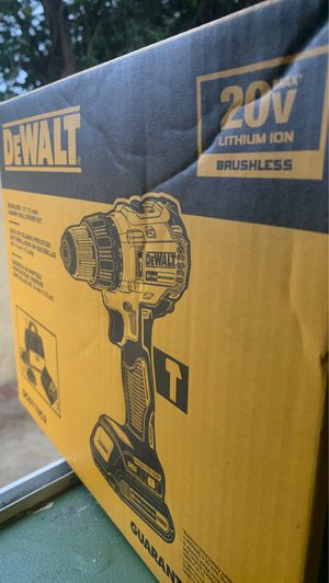 Dewalt 20v brushless 1/2 inch hammer drill power drill fn for Sale in Los Angeles, CA