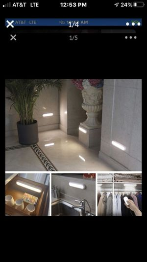 Great Value 3-pack Battery Operated 9-inch Dimmable LED Task Lights with Remote Control BRAND NEW!!, LOCAL PICK UP!!, NO LINES!, NO for Sale in Perris, CA
