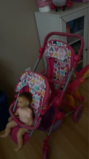 Double stroller toy for two dolls for Sale in El Monte, CA