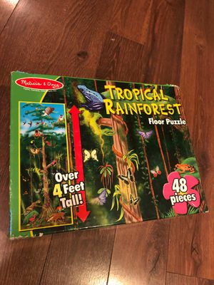 Melissa and Doug rainforest Puzzle - preschool - homeschool for Sale in Buckeye, AZ