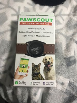 Paw scout pet tracking for Sale in Houston, TX