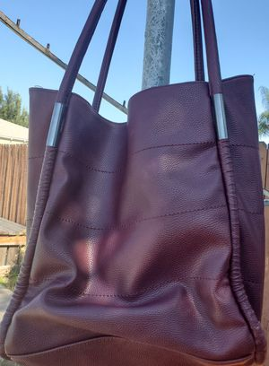 Neiman Marcus Maroon Tote Bag for Sale in Lemon Grove, CA