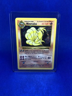 Pokemon Cards - Base Set Shadowless - Ninetales for Sale in Winter Garden, FL