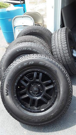 Jeep Wrangler wheels/tires for Sale in The Bronx, NY