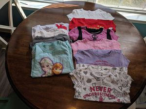 Girls Disney shirts size 5 and 5/6 for Sale in Chesapeake, VA
