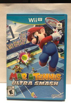Nintendo Wii U Mario Tennis Ultra Smash for Sale in Chicago, IL