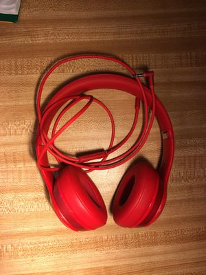 Beats solo 2 red for Sale in Trenton, NJ