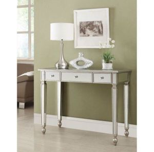 Coaster Furniture Antique Silver Mirrored Console Table new in the box for Sale in Columbus, OH