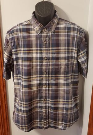 Eddie Bauer Plaid Classic Fit Collared Short Sleeved Shirt for Sale in Middletown, MD