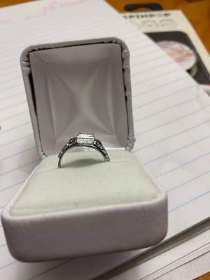 Antique platinum ring for Sale in Kansas City, MO