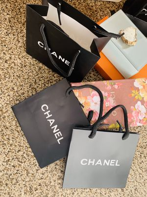 Chanel shopping bag bundle 3 pieces small bags for Sale in Mount Rainier, MD