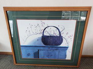 Wall Art Print w/Garment Hanging Hooks for Sale in Leavenworth, WA